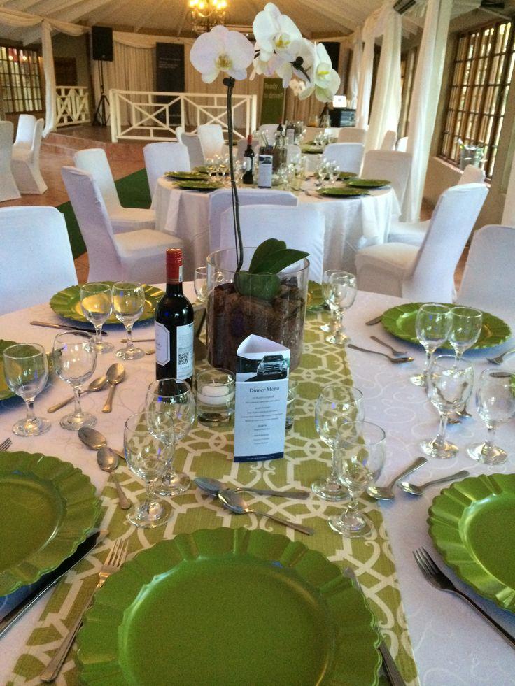 Green & White Function @ Three Oaks Venue Centurion www.threeoaks.co.za