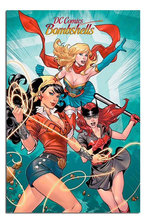 DC Comics Bombshells Group Poster | iPosters | iPosters
