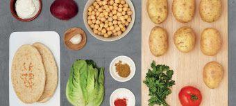 Recepten en ingrediënten thuis bezorgd