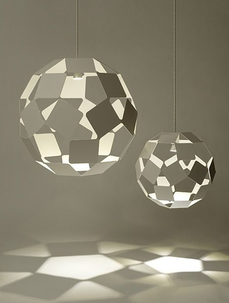 Dancing Squares: pendant lamp | lighting . Beleuchtung . luminaires | Design: nendo |
