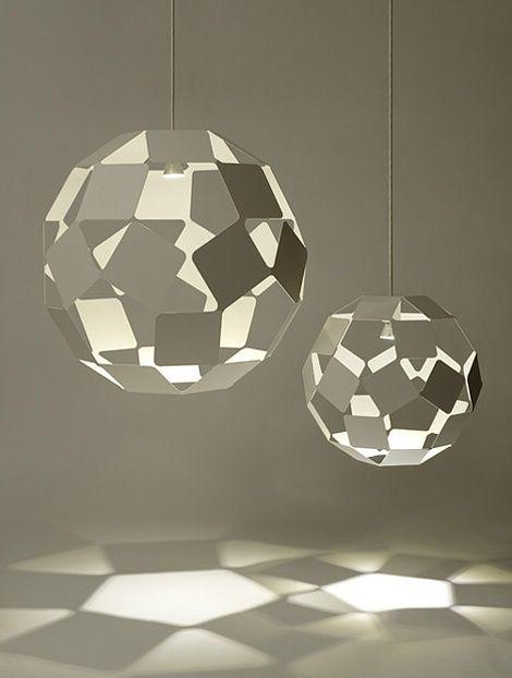 Dancing Squares: pendant lamp   lighting . Beleuchtung . luminaires   Design: nendo  