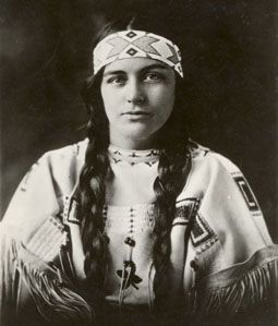 Ruth Muskrat Bronson (1897-1982) graduated from Mount Holyoke College in 1925.  This photo was taken December 13, 1923 when she was invited to the White House by  President Calvin Coolidge as a representative of the Cherokee tribe. She would open the Washington Bureau of the National Congress of American Indians and non-profit educational organization ARROW, Inc. (Americans for the Res­titution and Righting of Old Wrongs).