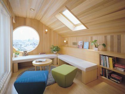 三井ホーム「小屋裏空間 書斎スペース」