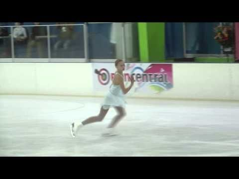 ▶ 28 Polina EDMUNDS (USA) - ISU JGP Mexico Cup 2013 Junior Ladies Free Skating - YouTube