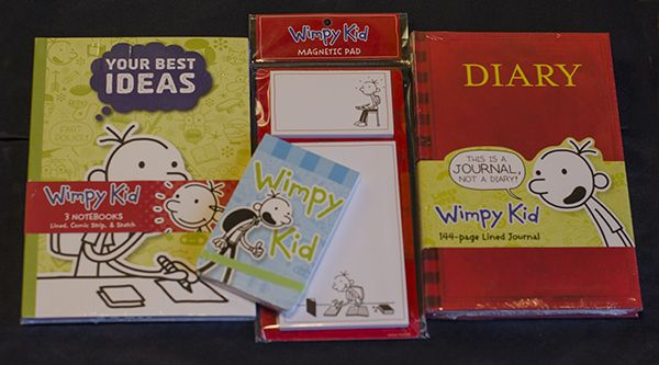 17 best images about more products i recommend on for Diary of a wimpy kid crafts