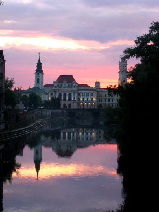 The beautiful city of Oradea, Western Romania, www.romaniasfriends.com
