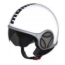 Casque Momo Design Minimomo Blanc brillant #speedwayfr #speed #france #scooter #casque #white #blanc #casques