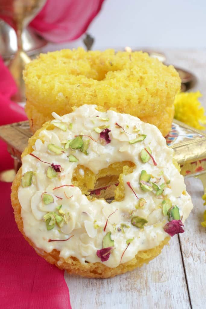 Malai Ghevar is a Rajasthani delicacy made during the month of Shravan. It is a delicious dessert and can be made at home using this recipe!