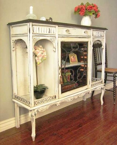 265 best SHABBY CHIC ~ BUFFETS ~ HUTCHES ~ CABINETS images on ...