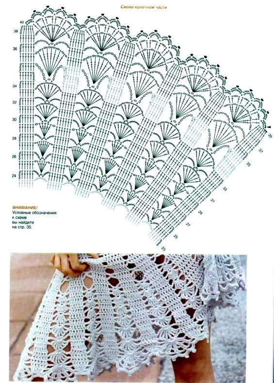 Letras e Artes da Lalá: Saia de crochê crochet clothing graph patterns