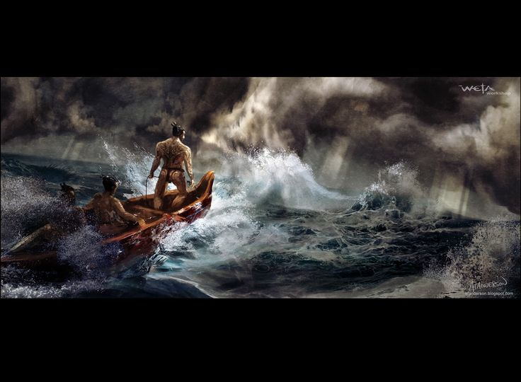 maui maori legend - Google Search