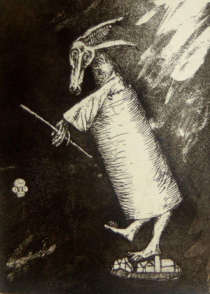 Stefan Caltia, 'Ass with Sceptre'