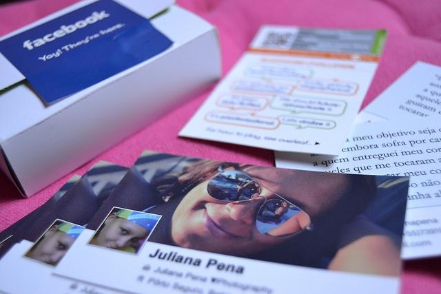 Facebook Cards by ✿ Juliana Pena ✿, via Flickr