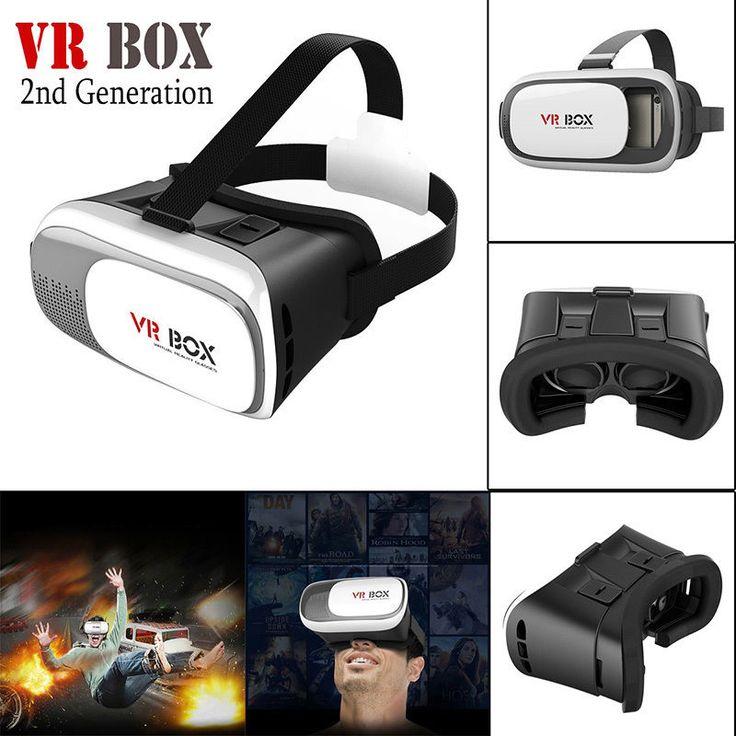 Google Smart 2nd Gen VR BOX Virtual Reality 3D Glasses Video Helmet Headset