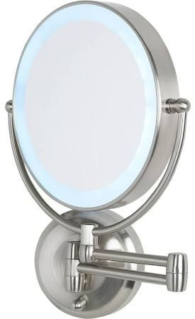 Wall Mounted Makeup Mirror With Lights best 25+ wall mounted magnifying mirror ideas on pinterest