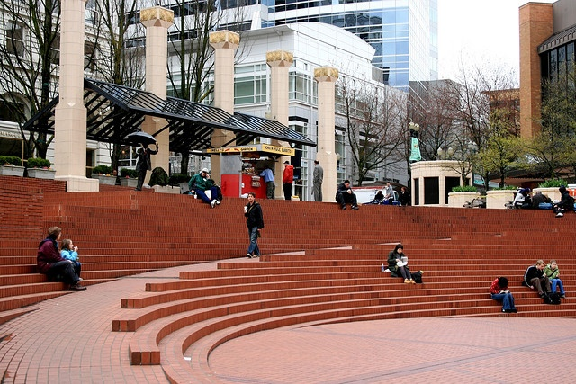 pioneer courthouse square portland oregon public