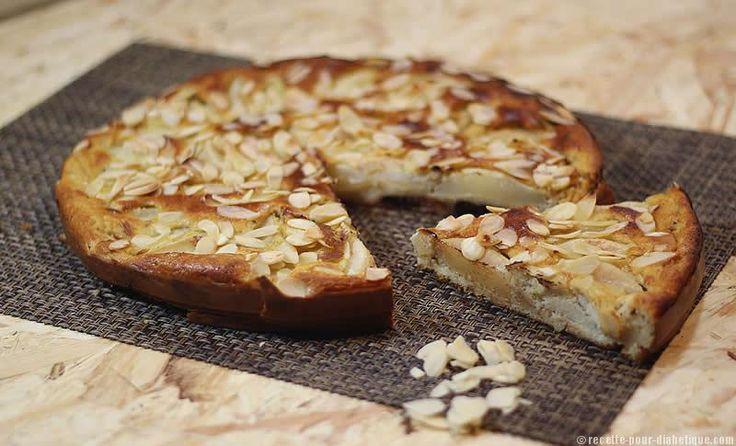 Gâteau à la Poire allégé, sans sucre ajouté et sans gluten