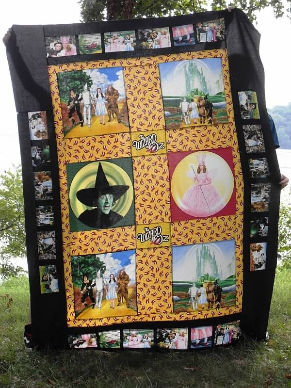 Wizard of Oz quilt
