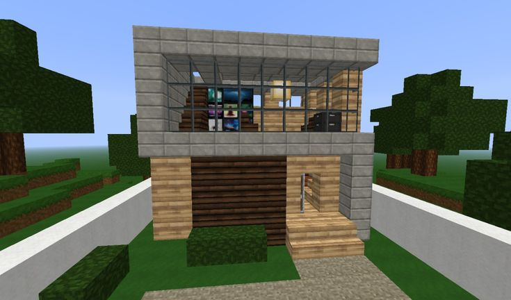 Simple modern home minecraft ideas pinterest simple for Minecraft house ideas