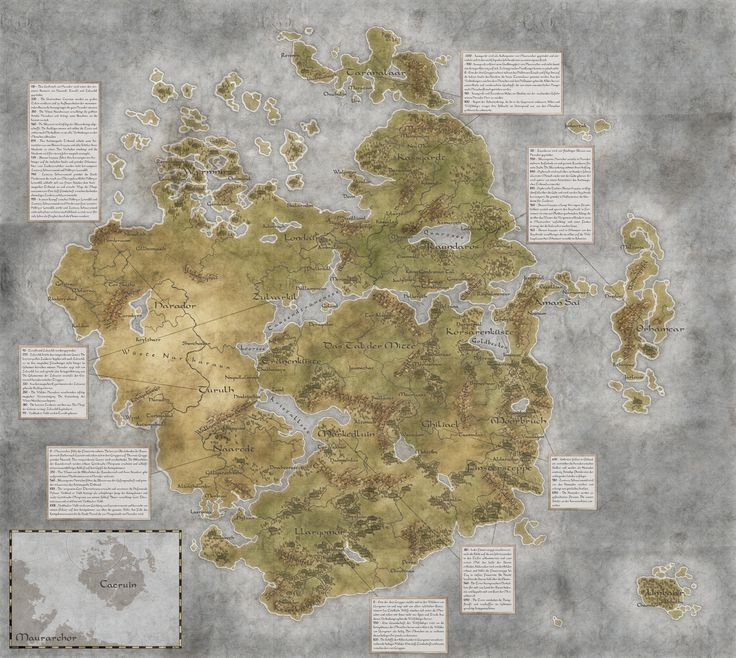 233 best images on pinterest fantasy map city maps worldmap of caeruin 2 by quabbe on deviantart gumiabroncs Images