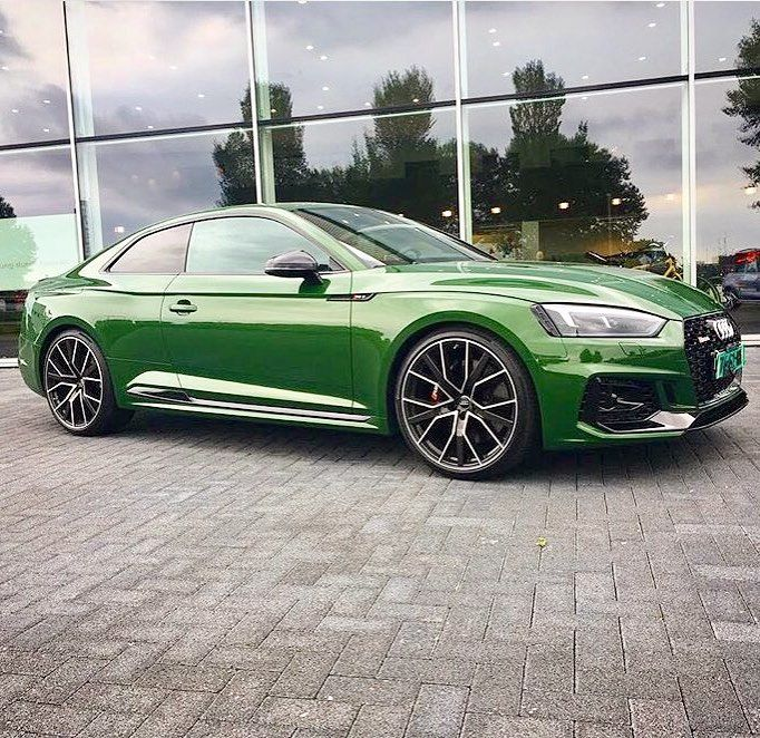 Besides The Sonoma Green Paint What Do You See Maybe Some 21 Rs6 Performance Wheels V6 Bi Turbo 2 9l 450hp G Performance Wheels Audi Rs5 Rs5 Coupe