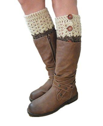 These beyond cozy boot cuffs are the perfect cold weather companion. They will be your new favorite winter-wear item. Every way is the right way. Perfect Homemade Christmas gifts Idea. Sale: $12.9-$14.9 with free shipping worldwide. If you need them to be made in a different color or size, pls contact me before order.  100% handmade crocheted in a pet-free, smoke-free, clean home. Every item was uniquely crocheted with love. We hope you may love them as we do.