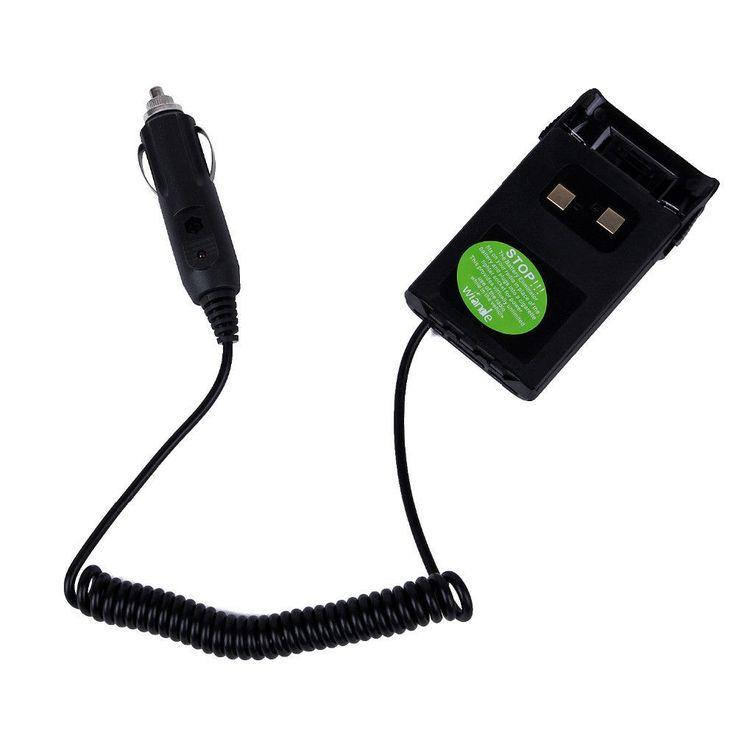 Black charger Battery Eliminator Adaptor For car radio For KG-UVD1P KG-UV6D KG-659 KG-669