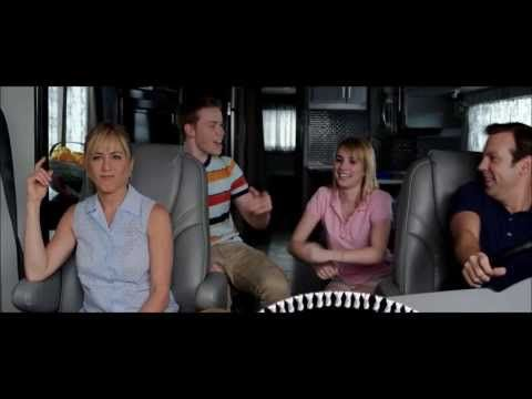 "We're the Millers; Movie Playing the theme song from F.r.i.e.n.d.s. [ ""I'll be there for you"" ]. I don't think Jennifer Aniston Knew about it."