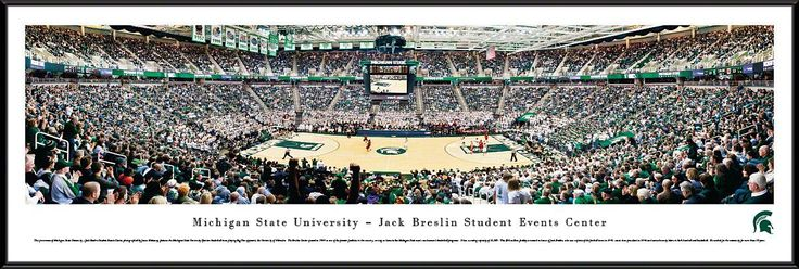 Michigan State Spartans Panoramic - Breslin Center Picture - Basketball