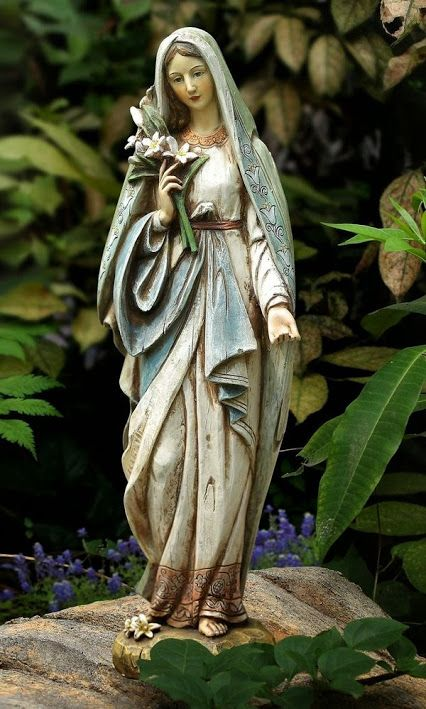 Statue of the Blessed Virgin Mary.