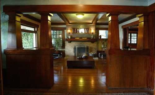 American Bungalow Interiors Interior Of The Hare Home At