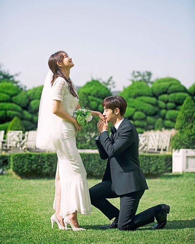 "21 Likes, 1 Comments - Shin Min Ah (@illuso.mina) on Instagram: """"Tomorrow with you"" The Wedding Shin Min Ah & Lee Je Hoon ❤ #tomorrowwithyou #shinminah #shinmina…"""