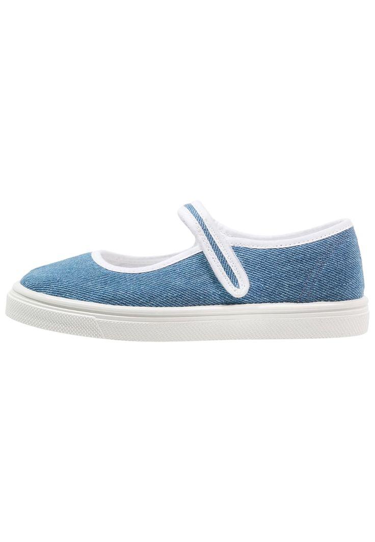 Schoenen Friboo Ballerina's met enkelbandje - blue Blauw: 15,95 € Bij Zalando (op 17/05/16). Gratis verzending & retournering, geen minimum bestelwaarde en 100 dagen retourrecht!