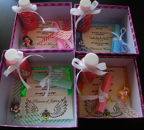 Sailor Moon bridesmaid invites!!