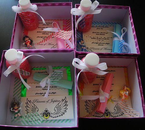 Sailor Moon bridesmaid invites!!