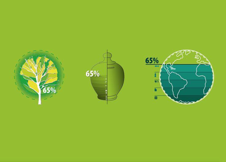 Illustration - visual - icons - flat design - infographics / Martina Acetti Designer  ABC production + - abcreativedept