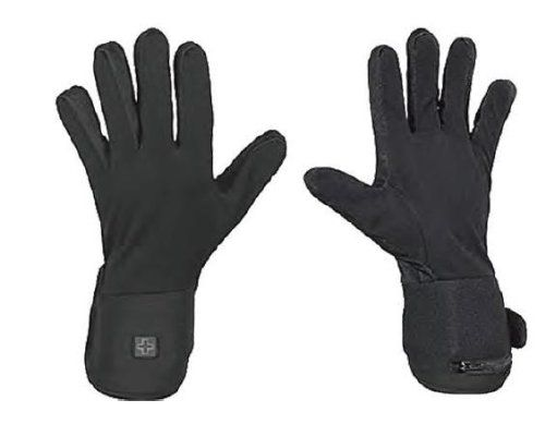 Venture Heated Clothing 7.4 Volt Heated Glove Liner – Small/Black   Venture Heated Clothing 7.4 Volt Heated Glove Liner - Small/Black Venture Heated Clothing 7.4 Volt Heated Glove Liner Make your existing gloves even better with the 7.4 Volt Glove heated liners. The stretchable poly-spandex fabric is slim enough to wear inside of mittens or gloves to provide you heat without taking away from your style. Use these under winter gloves, work gloves, or all on their own to have evenly di..