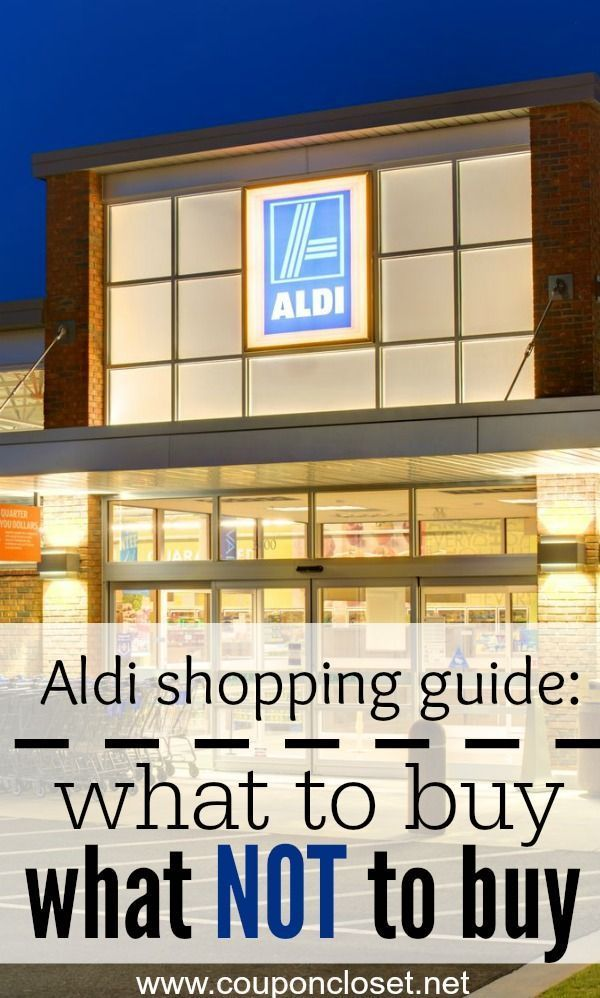 Aldi Grocery Store Shopping Guide: What to buy and what not to buy at Aldi so you will save money. grocery budgets