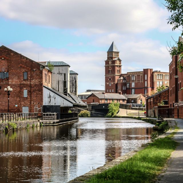 'Wigan Pier and Canal' on Picfair.com