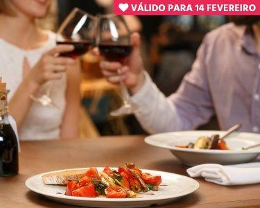 Jantar Romântico de Dia dos Namorados |  Mammasantissima - Sintra