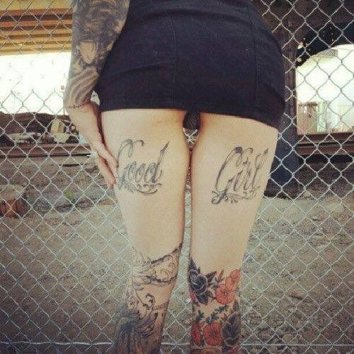Tattoo: Cuisses