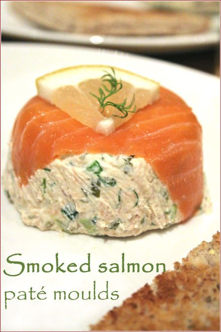 Smoked salmon paté moulds - Cooksister | Food, Travel, Photography