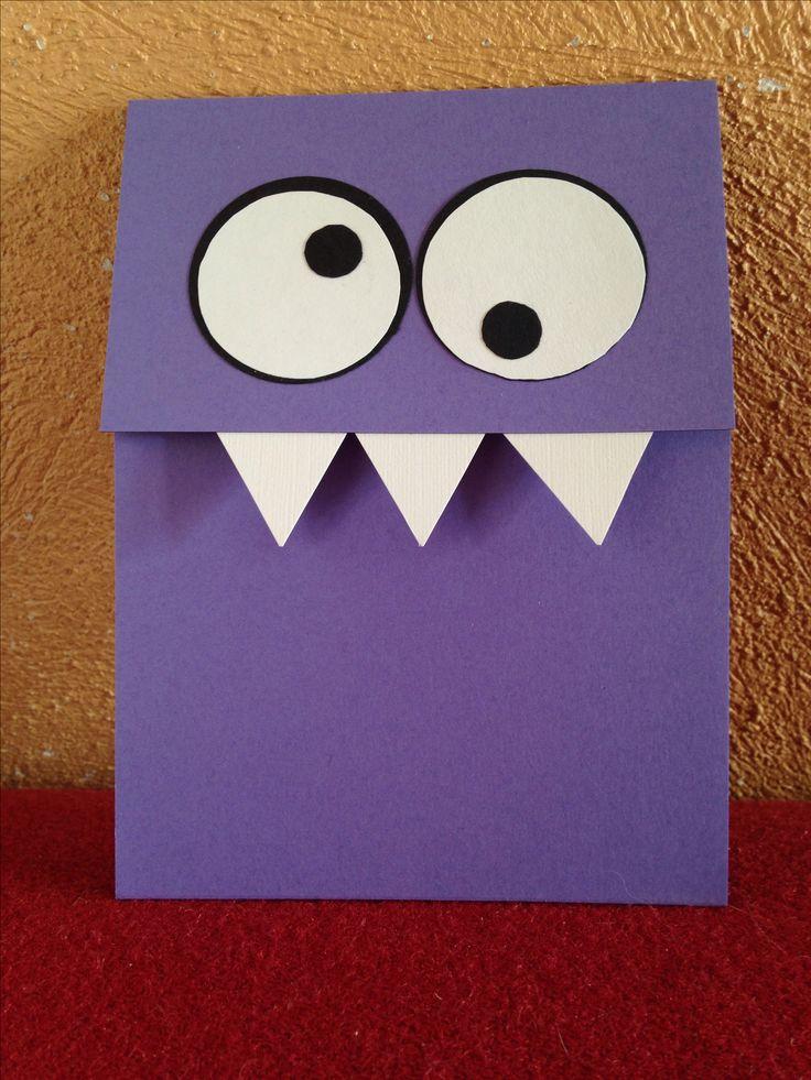 Einladung für Monster-Geburtstag