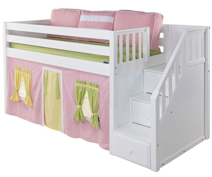 Low Loft Beds Bed Bunk, Loft Bed Curtains Canada