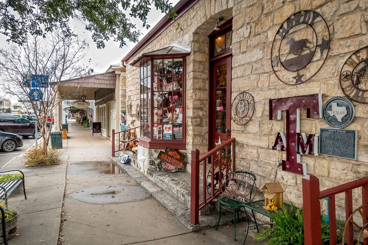 Shopping along Main Street is one of the great things to do in Fredericksburg Texas