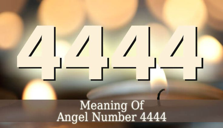 4444 Angel Number is a sign that it is time to set some goals. In this period, you goals and projects will be successful. Your angels will bring success.