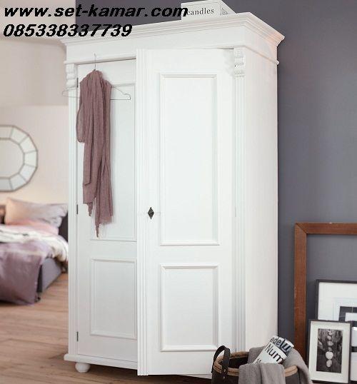 Jual Lemari Pakaian Minimalis Warna Putih Cat Duco Harga Murah - Set Kamar | Furniture Kamar | Kamar Tidur Anak Minimalis | Tempat Tidur Tingkat