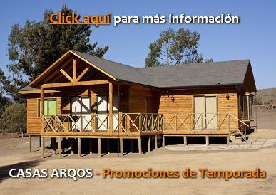 Oferta de temporada casas rusticas cabañas prefabricadas Venta de casas de madera en Chile