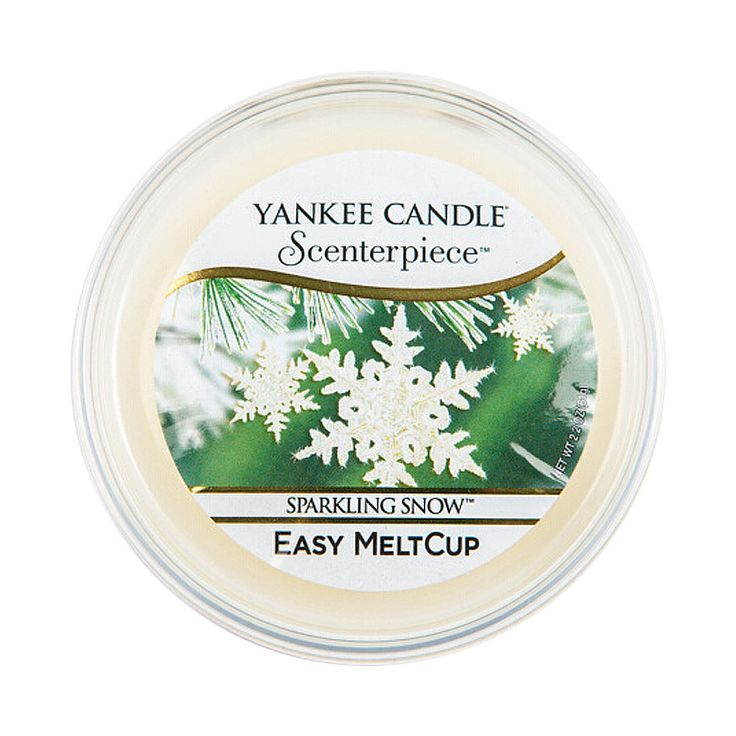 Yankee Candle – vosk Sparkling Snow, Easy MeltCup | Svět bytových vůní