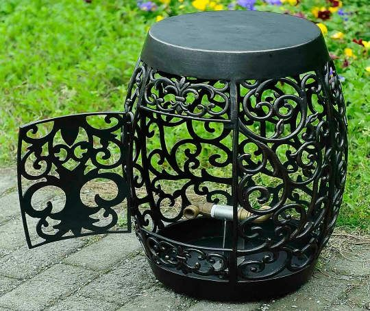 This Holder Allows You To Store Your Garden Hose Without Sacrificing The  Style Of Your Outdoor